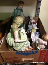 Selection Of Porcelain Figures & More