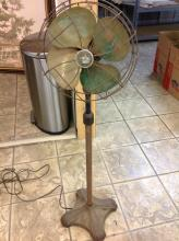 Emerson Electric Pedestal Fan With Brass Blade