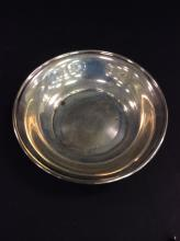 Sterling Silver Bowl 85.4 Grams Total Weight