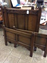 Pair Of Antique Twin Size Beds