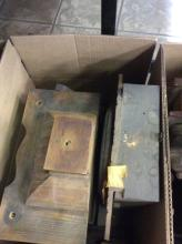 Selection Of Antique Clock Parts