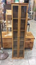 Small wooden DVD cabinet