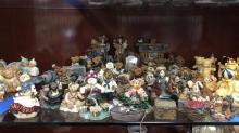 Selection of Boyds Bears and friends figurines