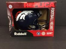 Denver Broncos Full Size Riddell Replica Helmet