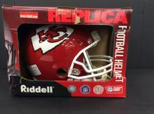 KC Full Size Riddell Replica Helmet
