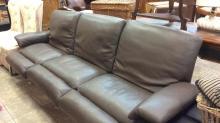 High-end Italian leather modern so far both ends