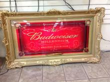 Budweiser Millennium Lighted Sign Limited