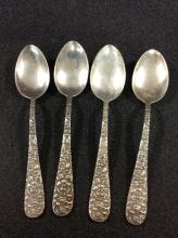Stieff Sterling Silver Spoons Rose Pattern