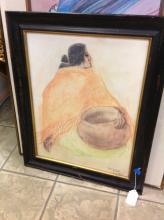 Listed Artist RC Gorman Original Art
