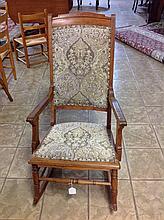 Antique Oak Rocking Chair