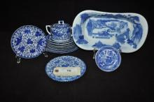 Blue & White Japanese Phoenix Ware