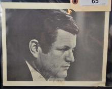 Senator Edward Kennedy Signed Photo Print
