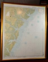 Map of Tybee Island to Doboy Sound