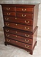 Mahogany Link Taylor Chest on Chest