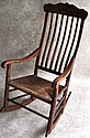 Clore Spindle Back Walnut Rocker