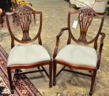Charles Barr Hepplewhite Side Chairs