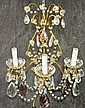 Italian Three Light Wall Sconce