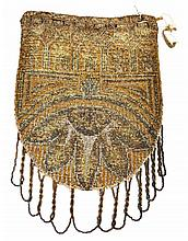 Art Deco Era Beaded Handbag, 1 Piece
