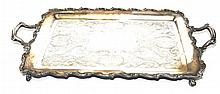 English Sheffield Tray, 1 Piece