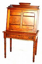 Eastlake Drop Front Ladies Writing Desk