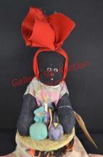 Gullah Sweetgrass Cloth Doll