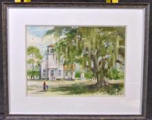 Elmer Zarney Watercolor Painting