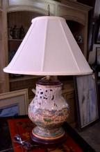 Chinese Export-style Lamp