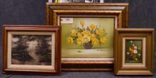 3 Original Oil Paintings