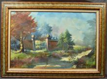 Decorative Oil Paintings, 3 Pc
