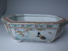 Chinese Famille Rose Hand Painted Porcelain Bowl