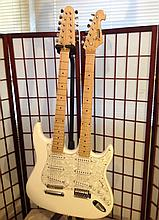 Kaytone double neck Stratocaster very rare sell