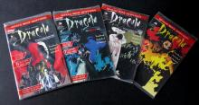 BRAM STOKER'S DRACULA COMIC BOOKS OFFICIAL MOVIE ADAPTATION COMPLETE SET OF FOUR - Topps Comics, 1992. Each comic comes with four limited edition trading cards. All four Mint in sealed polybags.