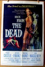 BACK FROM THE DEAD - 1957- One Sheet Movie Poster - 27