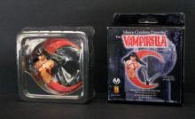 VAMPIRELLA TREE ORNAMENT - Moore Creations, 2001 - Limited edition sculpture of the sexy vampire. 3 1/2
