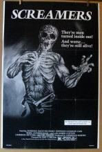 SCREAMERS - 1981 - One Sheet Movie Poster - 26