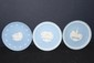3 WEDGWOOD PLATES - 2 CHRISTMAS 81 &  83 - ONE AMERICAN HERITAGE - MINT
