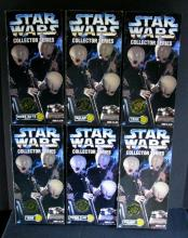 STAR WARS COLLECTOR SERIES CANTINA BAND - All 6 alien band members! Kenner Toy, 1997. Six 12