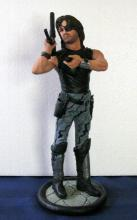 ESCAPE FROM NEW YORK SNAKE PLISSKEN LIMITED EDITION RESIN MODEL FIGURE PROFESSIONALLY PAINTED Flintstone Studios, 2008. Handsomely sculpted 12