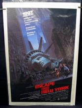 ESCAPE FROM NEW YORK - 1981  Style A One Sheet Movie Poster - 27