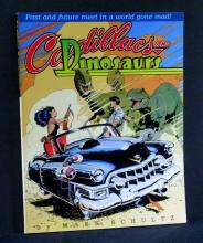 CADILLACS AND DINOSAURS DELUXE GRAPHIC NOVEL  Kitchen Sink Press fourth printing, 1992. 136 page 8 1/2