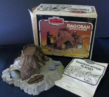 VINTAGE STAR WARS EMPIRE STRIKES BACK DAGOBAH ACTION PLAYSET  Kenner, 1981. 13
