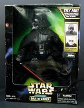 STAR WARS ACTION COLLECTION ELECTRONIC DARTH VADER Kenner, 1998. 12