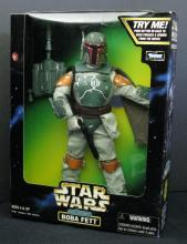 STAR WARS ACTION COLLECTION ELECTRONIC BOBA FETT Kenner, 1998. 12