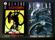 ALIENS -TWO GRAPHIC NOVELS LOT - Dark HorseAliens