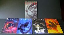 ALIENS COMIC BOOK LOT OF 4 + ONE GRAPHIC NOVEL Dark Horse, 1990. All Near Mint.
