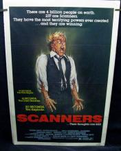 SCANNERS - 1981 - One Sheet Movie Poster 27