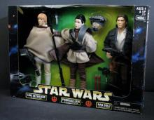 STAR WARS - LUKE, LEIA, & HAN SOLO TRIPLE PACKKenner, 1998. New in box.