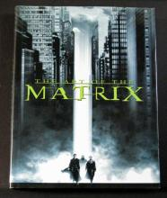 THE ART OF THE MATRIX DELUXE HARDCOVER BOOK Newmarket Press, 2000. Lavish 500 page book featuring concept art, rare photos, storyboard art, and special effects of the film. 9