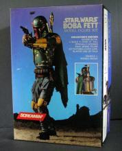 STAR WARS - BOBA FETT MODEL FIGURE KIT Screamin' 1994. Deluxe 1/4 scale model figure. Over 18