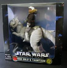 STAR WARS - HAN SOLO AND TAUNTAUN DELUXE BOX SET - Kenner, 1997. Includes 12